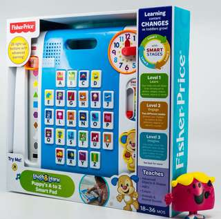 ~Ready Stocked~ Fisher-Price Laugh & Learn Puppy's A to Z Smart Pad / tablet /