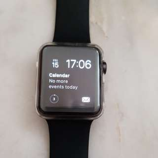 Space Grey Apple Watch iWatch Series 1 42mm