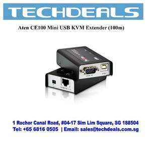 Aten CE100 Mini USB KVM Extender (100m)