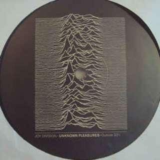 LP Joy Division - Unknown Pleasures