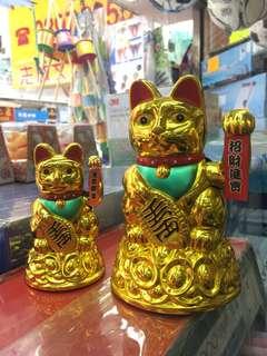 招財貓金色 Golden Lucky Cat