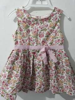 Gingersnaps Dress 18 month Preloved