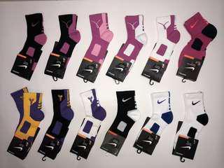 🚚 🔥現貨🔥NIKE HYPER ELITE 乳癌 湖人 KOBE 籃球襪 一代 二代 菁英襪 中筒襪 運動襪 球星毛巾