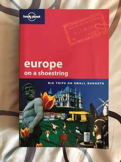Lonely Planet : Europe on a shoestring