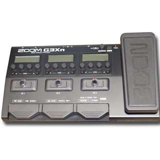 Zoom G3XN - Multi Effects Processor with EXP pedal.