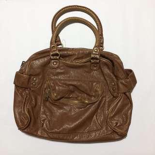 Black Poppy Handbag