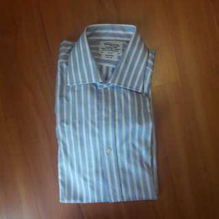 TM Lewin long sleeve cuffed shirt