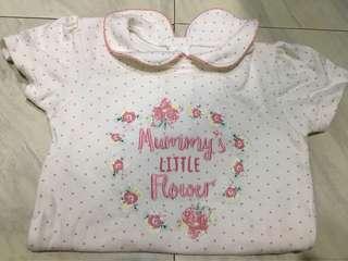 baby girl onesies - george brand