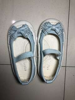 Meet my feet blue doll shoes