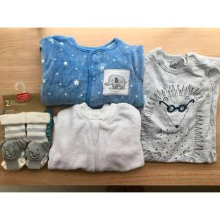 🚚 BN Baby clothes bundle - Cotton On, TLW, John Lewis