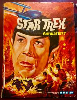Vintage Star Trek Annual 1977