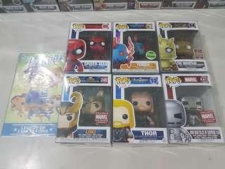 Funko Pops! Marvel and GoT