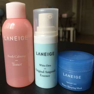 Authentic Laneige Set