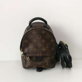 Authentic Louis Vuitton Mini Backpack Palm Springs