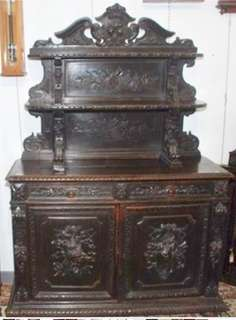 Antique Hall Cabinet