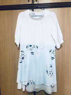 [Clean up sale]Floral Koreans style summer dress