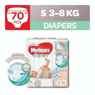 Huggies diapers (small)