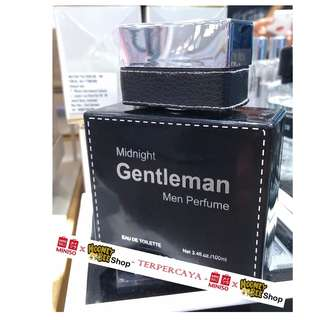 Parfum Pria Midnight Gentleman Men Perfume Miniso Import