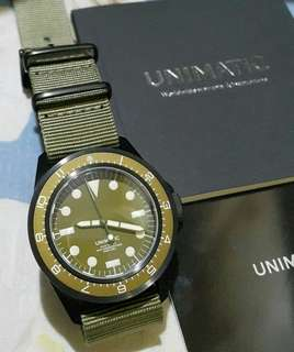 Unimatic Modello Uno ref. U1-DZN is a Made in Italy Edition of 200 (95% New)