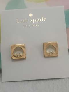Kate Spade Earrings 方型通花耳環