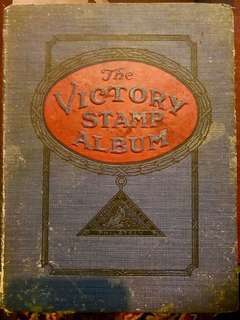 1920s The Victory Stamp Album