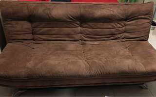 Used 3 seater sofa bed (double bed size) for $30 only