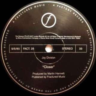LP Joy Division - Closer