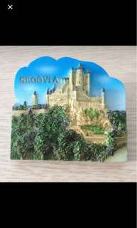 Alcazar Segovia Spain fridge magnet