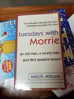 tuesday with morries book