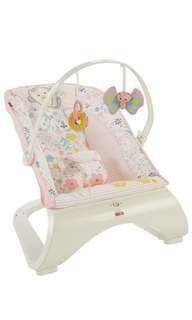 ~Ready Stocked~ Fisher-Price comfort curve Bouncer - sweet butterfly pink