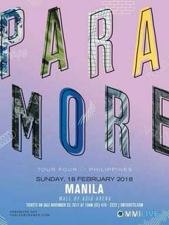 LF Paramore ticket LBB