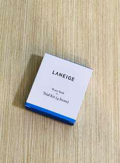 BNIB Laneige Water Bank Trial Kit