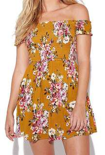LUCK & TROUBLE Shir Mini Mustard
