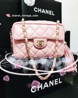Chanel 仙女激罕粉紅色相機袋😍😍😍