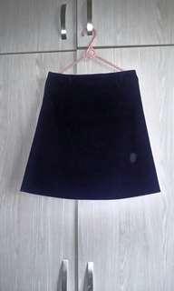 🚚 可換物 深藍色及膝裙