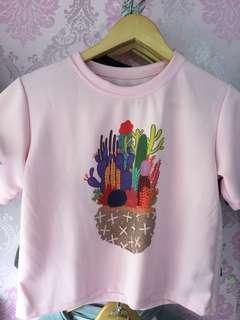 Cactus pink shirt