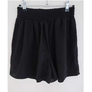 Highwaisted Shorts with Pockets