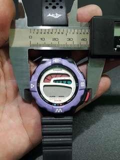 Casio          her watch
