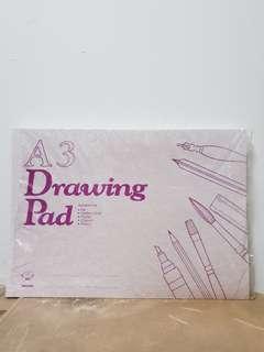 A3 Drawing Block Paper