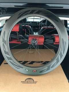 Zipp 2017 Firecrest 808 Carbon Clincher Rear Wheel (Disc Brake)