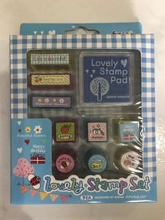 9 Lovely Stamp Set