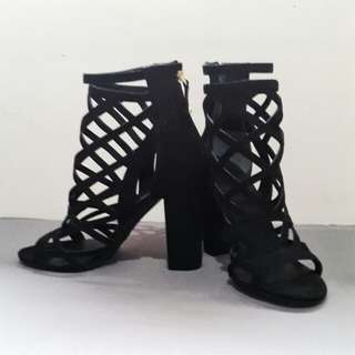 Guess Cage Heels