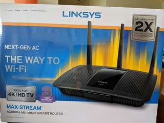Linksys Wireless Router AC 1900+ ( Fast deal!)