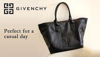 Givenchy Parfums 仿羊皮 壓紋logo 單膊 手挽袋 ~ 專櫃VIP贈品