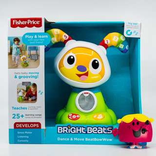 ~Ready Stocked~ Fisher Price Bright Beats Dance & Move Beat Bow Wow