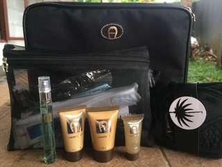 Agner beauty pouch (Men) ORI + beauty kit by agner men
