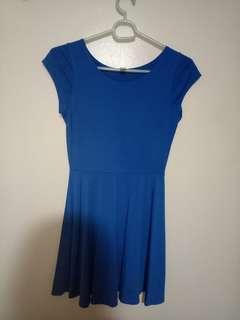 Apartment eight blue dress