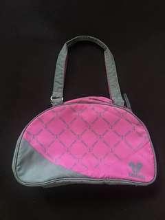 Disney pink duffle bag small