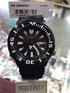 AUTHENTIC SEIKO SRP641 BLACK GOLD BABY TUNA