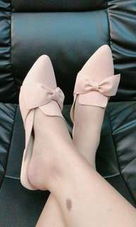 Ribbon pointed mules(PRE-ORDER)